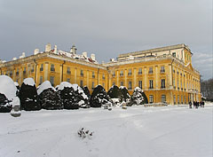 The palace, viewed from the garden - Fertőd, Hungary