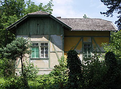 Forester's house at the entrance of Gödöllő Botanical Garden - Gödöllő, Hungary