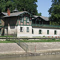 Boat house of Spartacus Rowing Club - Győr, Hungary