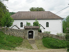 The stone walled Reformed Protestant church of Jósvafő - Jósvafő, Hungary