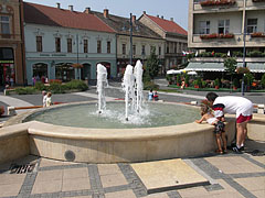 Fountain in the main square - Kaposvár, Hungary