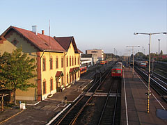 Train station of Mátészalka - Mátészalka, Hungary