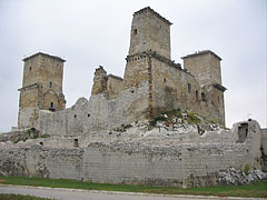 The remains of the 13th-century Castle of Diósgyőr - Miskolc, Hungary