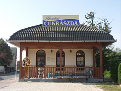 Confectionery and ice-parlor on the main square - Mogyoród, Hungary