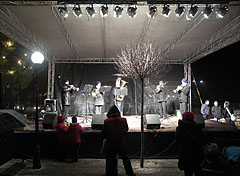 "Main square, ""Everybody's Christmas"" event - Mogyoród, Hungary"
