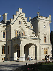 The Nádasdy Mansion recalls the style of the English palaces - Nádasdladány, Hungary