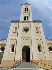 "The Roman Catholic Sacred Heart of Jesus Church (""Jézus Szíve templom"") - Paks, Hungary"