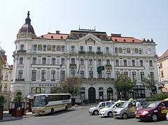 The eclectic style County Hall of Baranya - Pécs, Hungary