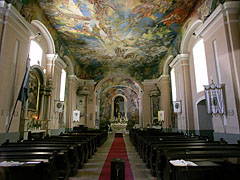 Interior of the Roman Catholic Church of St. John the Baptist - Ráckeve, Hungary