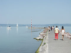 Jetty (or mole) - Siófok, Hungary