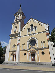The Roman Catholic Visitation of the Blessed Virgin Mary's Parish Church - Siófok, Hungary