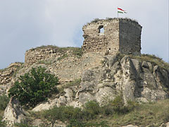 The ruins of the 13th-century Castle of Sirok - Sirok, Hungary