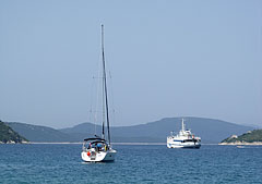 Small bay with boats - Slano, Croatia