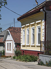 Dwelling houses on the main street - Szada, Hungary