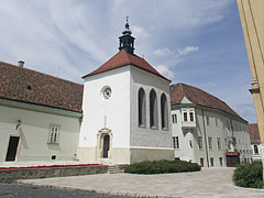 The late gothic Saint Anne's Chapel - Székesfehérvár, Hungary