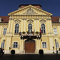 Facade of the Bishop's Palace (or Episcopal Palace) - Székesfehérvár, Hungary