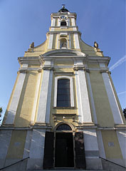 The late baroque style Roman Catholic church of Szekszárd - Szekszárd, Hungary