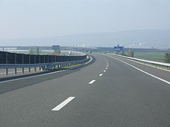 The M6 motorway somewhere between Decs and Szekszárd - Szekszárd, Hungary