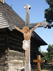 Crucifix (a stone cross with a tin corpus) - Szentendre, Hungary