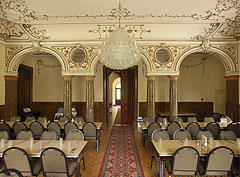 Ceremonial hall, now functions as a dining room - Tóalmás, Hungary