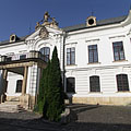 The U-shaped baroque Archbishop's Palace (the former Episcopal Palace) - Veszprém, Hungary