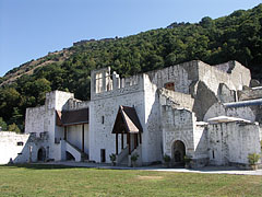 The restored building of the medieval Royal Palace - Visegrád, Hungary