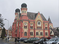 The Byzantine-eclectic style former Synagogue of Zalaegerszeg is today the Town Concert and Exhibition Hall - Zalaegerszeg, Hungary