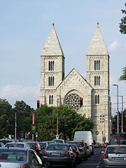"The Roman Catholic Church of Saint Margaret of Hungary (in Hungarian ""Árpád-házi Szent Margit-templom"") on the Lehel Square - ブダペスト, ハンガリー"