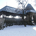 The stone Árpád (or Arpad) Lookout building - ブダペスト, ハンガリー