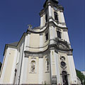 The baroque style Roman Catholic Assumption of Mary Main Parish Church - Jászberény, ハンガリー
