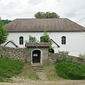 The stone walled Reformed Protestant church of Jósvafő - Jósvafő, ハンガリー