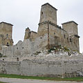 The remains of the 13th-century Castle of Diósgyőr - Miskolc, ハンガリー