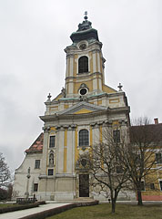 The baroque style Assumption of the Virgin Mary Roman Catholic Parish Church - Szentgotthárd, ハンガリー