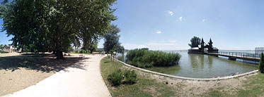 Lakeside of the Balaton - Keszthely, ハンガリー