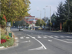 The Road 7 at the center of Fonyód - Fonyód, Mađarska